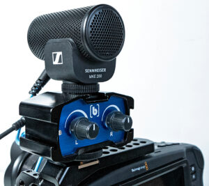 Sennheiser, Mikrofon, MKE 200, Passiv-Adapter