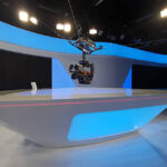 Spidercam im News-Studio
