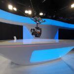 Spidercam im News-Studio