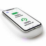 Smartphone drahtlos laden und sichern