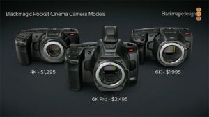 Blackmagic Cameras