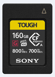 Sony, Speicherkarte, CFexpress A, 160 GB