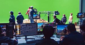 © Virtual Line Studios, Produktion, Studioset