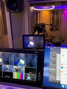 Aftonbladet, Podcast-Studio, Kontrollraum