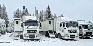 Betamobil, Ü-Wagen UHD5, Ski-WM