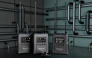 Saramonic, UwMic9s, Dreier-Set, UHF-Wireless-Audio
