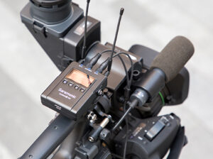 Saramonic, UwMic9s, RX, UHF-Wireless-Audio