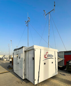 NEP, Broadcast Solution, Servus TV, POD. Luftfrachtcontainer