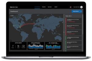 Haivision Hub, Dashboard-Screenshot, SRT
