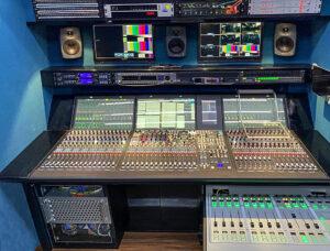 Lawo mc²56, Audiomischpult im IP-Ü-Wagen von JSBC.