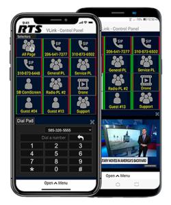 RTS, VLink, App