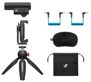 Sennheiser, Mikrofon, MKE 400, Kit
