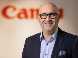 Alexander Müller, Sales Director ITCG DACH B2B und Pro Imaging, Canon