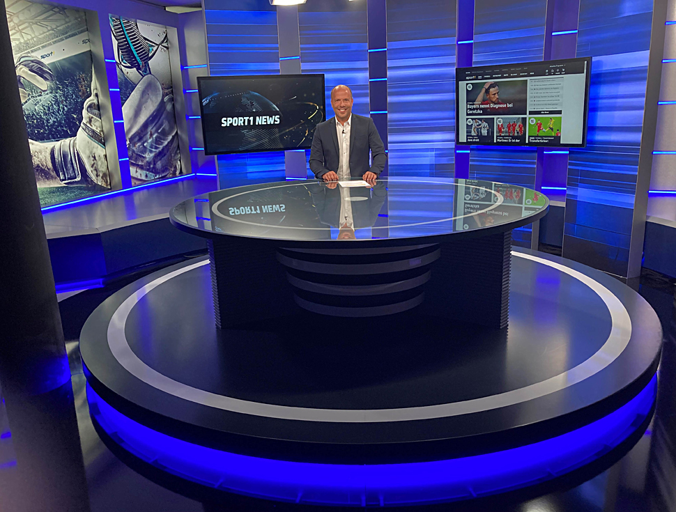 Sport1 Sendet Aus Neuem Studio Film Tv Video De