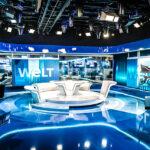 Welt-Nachrichtenstudio mit Vizrt-Tools