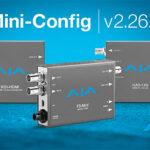 Aja veröffentlicht Mini-Config v2.26.2