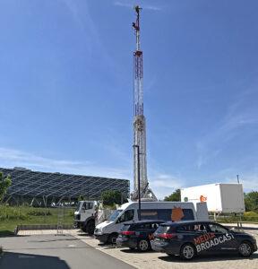Media Broadcast, Herzogenaurach, 5G-Campusnetz