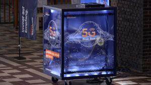 Blue Box, 5G-Campusnetzwerk, © Media Broadcast