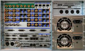 EVS, XT-Via-Server, IP-Rückseite