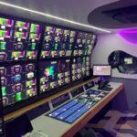 Ü-Wagen von Bahrain TV produzieren mit Lawo VSM und mc²