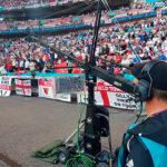Kräne und Spidercams bei der Fußball-EM
