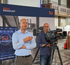 Media Broadcast, Sendefunkstelle Nauen, Daniel Wolbers, Kamera, © Nonkonform