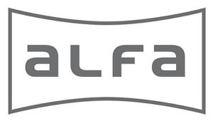 Arri Rental, Alfa, Logo