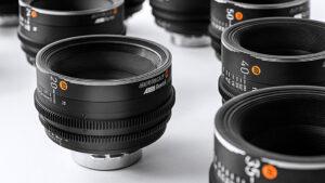 Arri Rental, Moviecam, Objektive