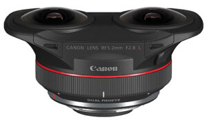 Canon, Dual-Fisheye-Objektiv